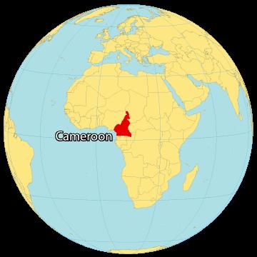 Cameroon World Map