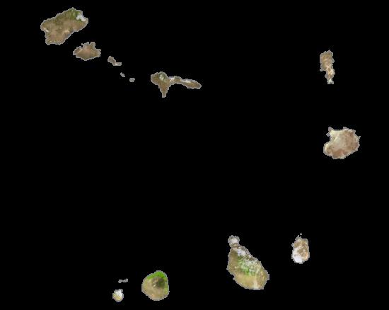 Cape Verde Satellite Map