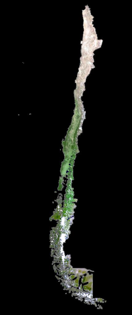 Chile Satellite Map