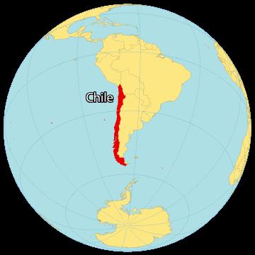 Chile World Map