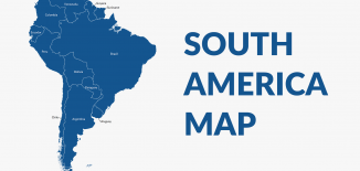 South America Map Feature