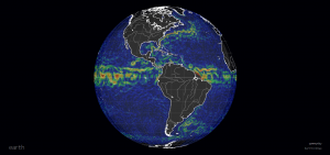 Earth NullSchool Ocean Currents Map