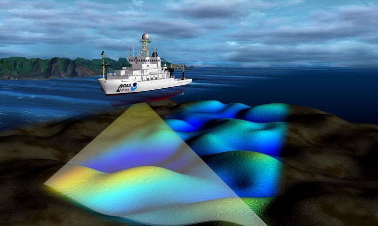 Mapping the Ocean Floor: Water Bathymetry Data