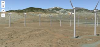 esri javascript api windfarm webmap webgl