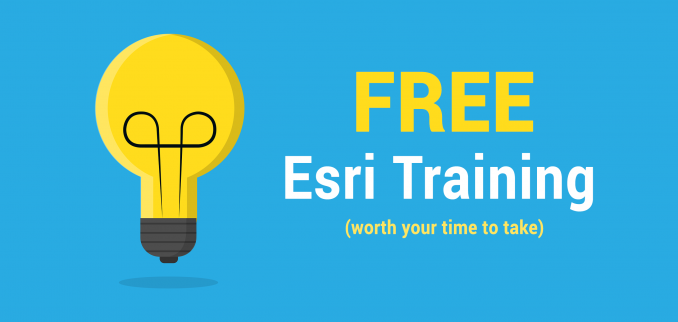 7 Free Esri Training Courses to Sink Your Teeth Into in 2019