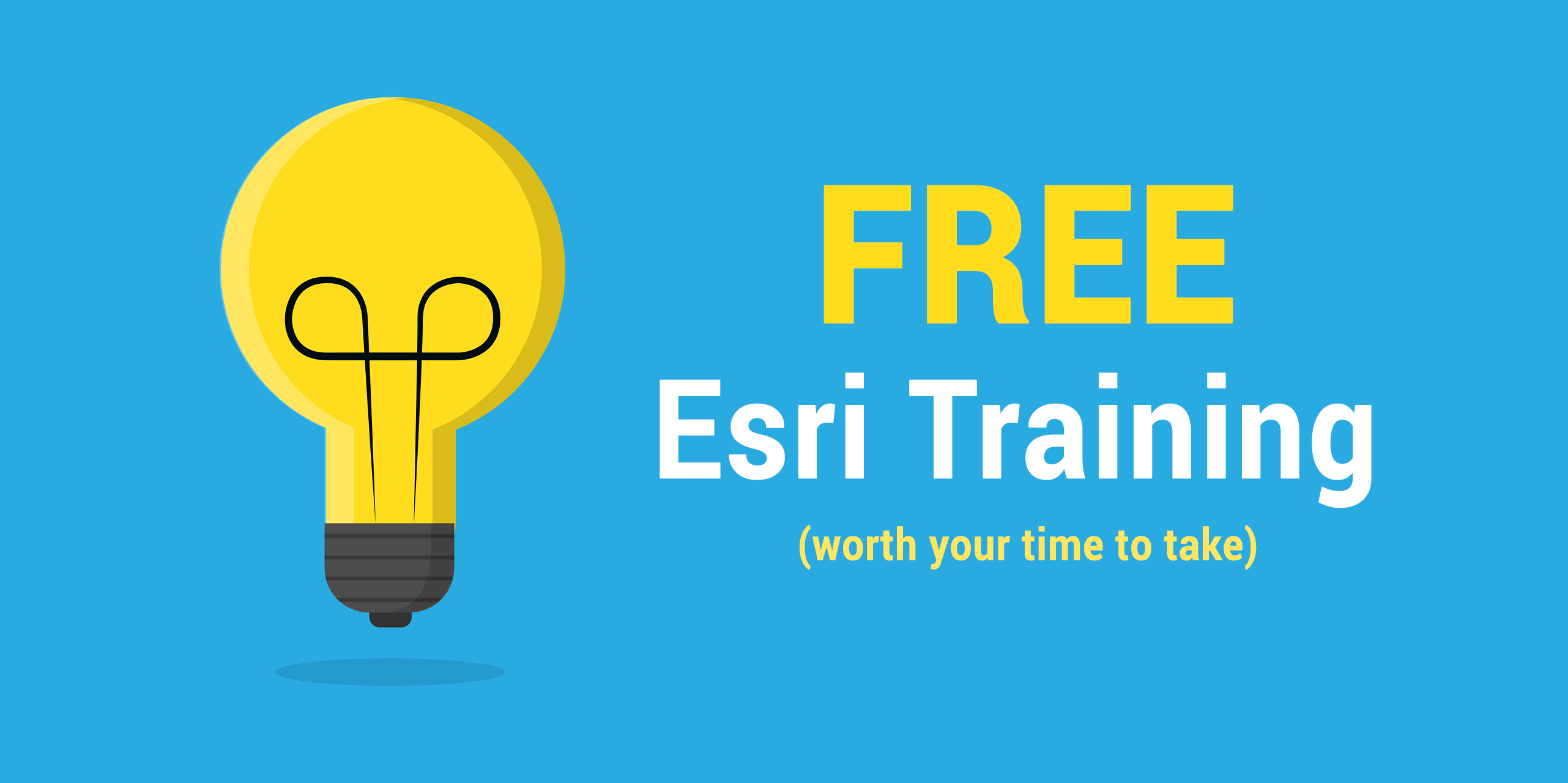 7 Free Esri Training Courses To Sink Your Teeth Into In 2018 Gis