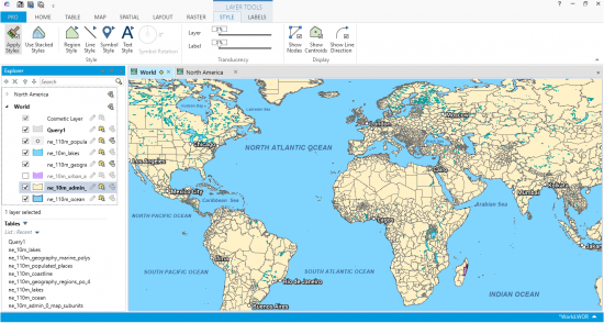 Mapinfo professional by pitney bowes gis geography mapinfo professional world gumiabroncs Images
