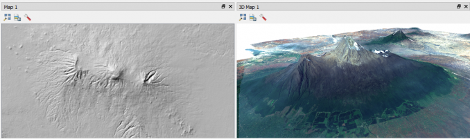 qgis 3 mount kilimanjaro multiple canvas