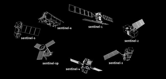sentinel satellites copernicus programme