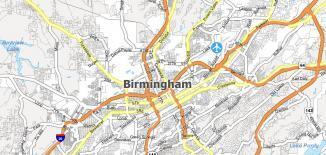 Birmingham Map