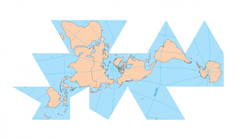 50 Map Projections Types: A Visual Reference Guide [BIG LIST]