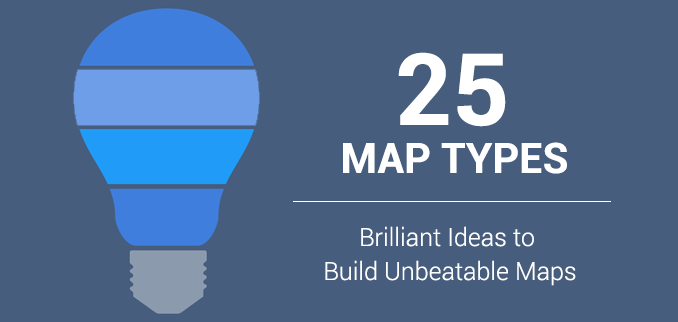 25 Map Types Brilliant Ideas To Build Unbeatable Maps Gis Geography