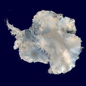 Antarctica Blue Marble