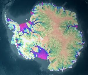 Antarctica Ice Flow