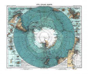 Sud Polar Karte