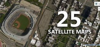 satellite maps