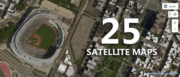 25 Satellite Maps To See Earth in New Ways