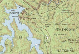 topographic maps australia