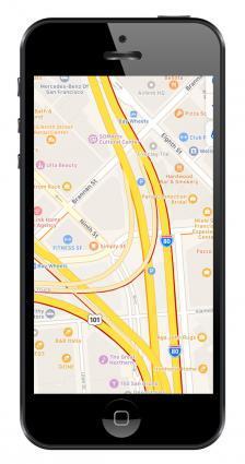 GPS Navigation Apps Apple Maps