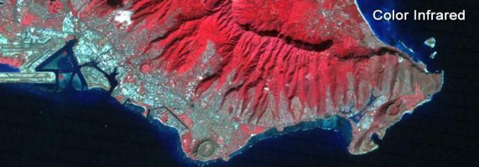 Landsat Color Infrared