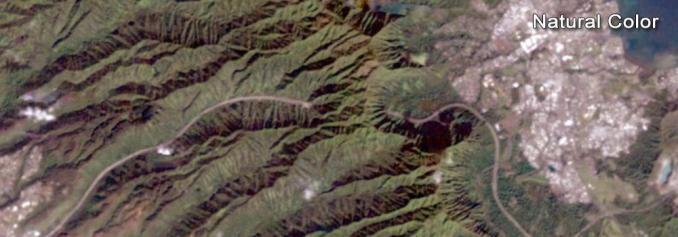 Landsat Natural Color