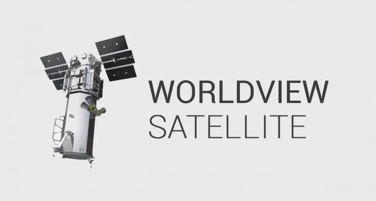Worldview Satellite by DigitalGlobe