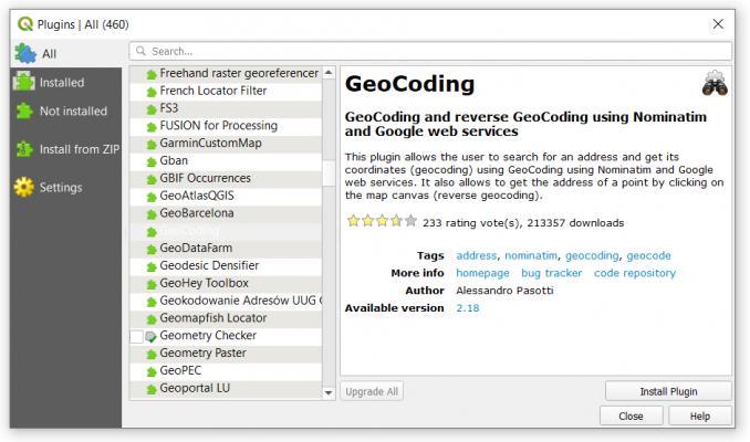 qgis 3 plugin repository