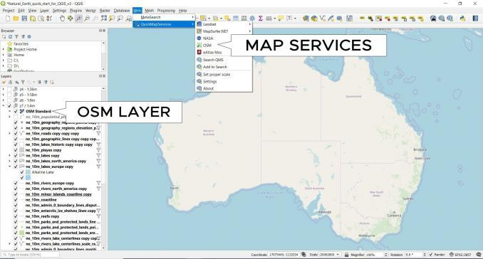 qgis 3 quick map services