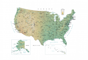 Map USA Feature
