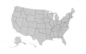 US County Map Feature
