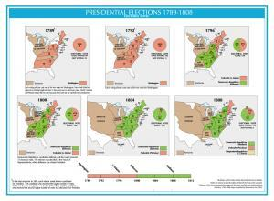United States Presidential Elections Map