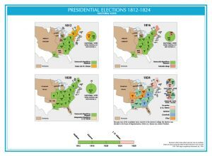 United States Presidential Elections 1812-1824