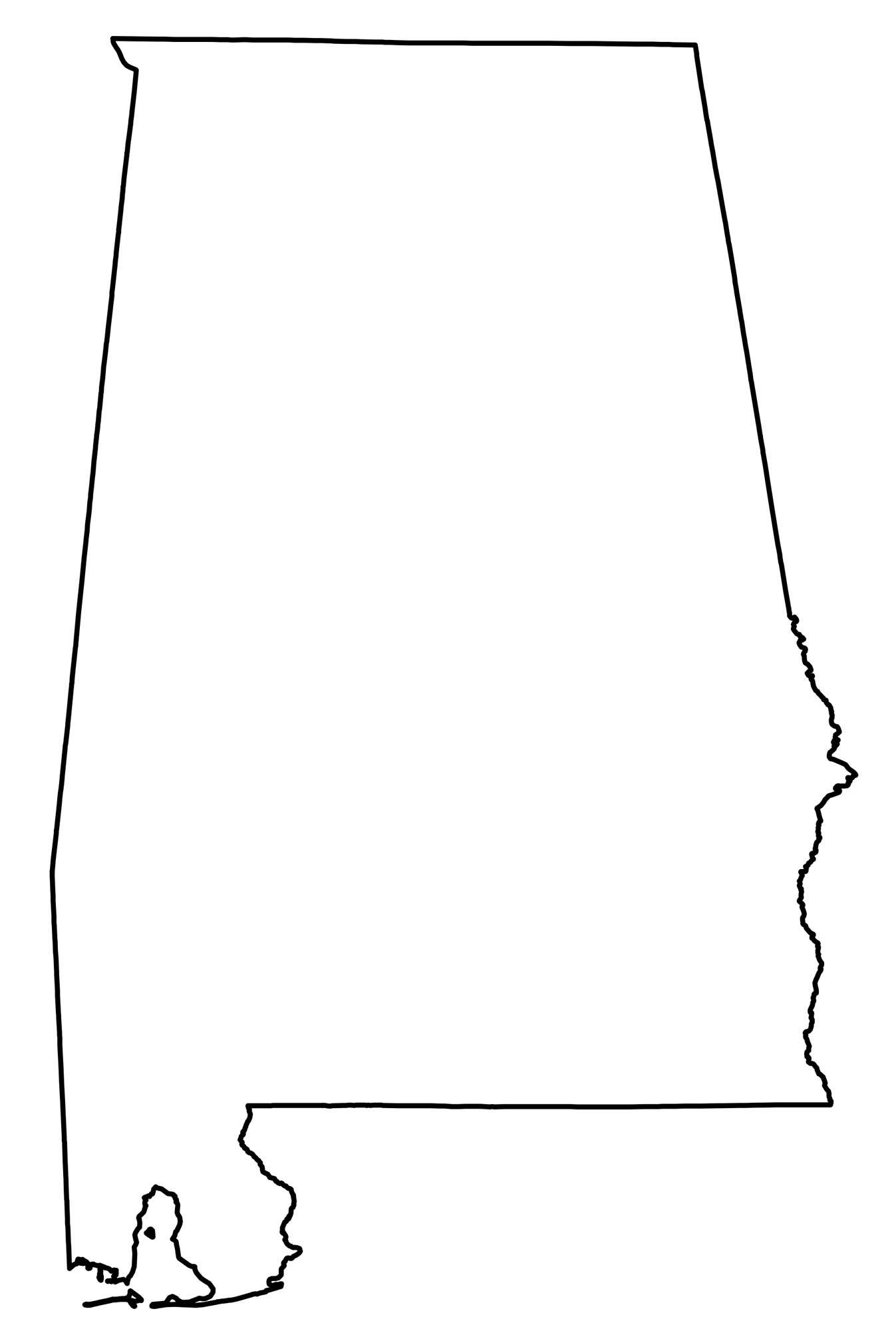 State Outlines Blank Maps Of The 50 United States Gis Geography