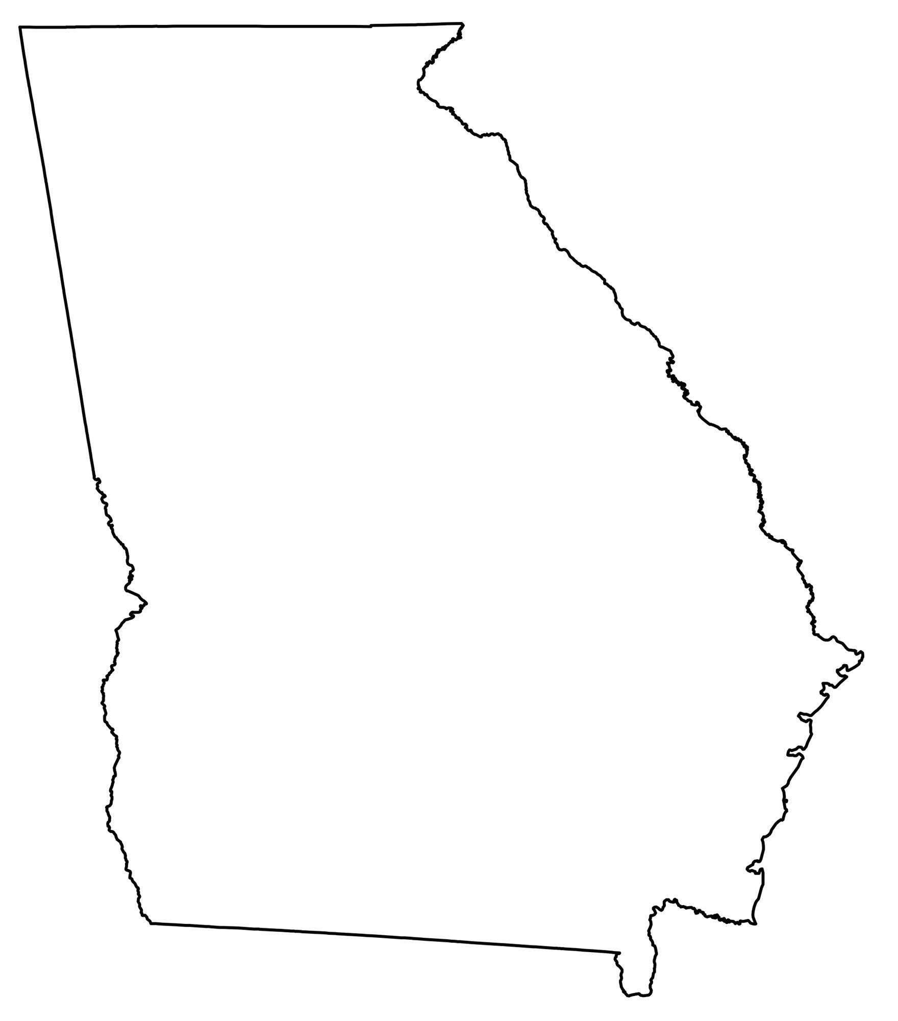 Picture of: State Outlines Blank Maps Of The 50 United States Gis Geography