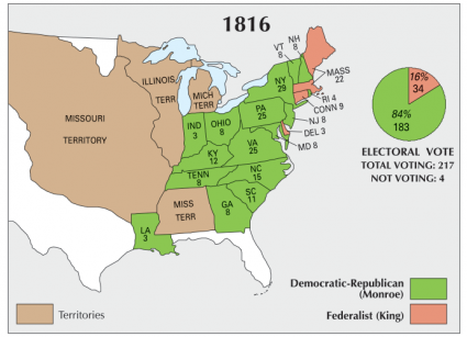 US Election 1816