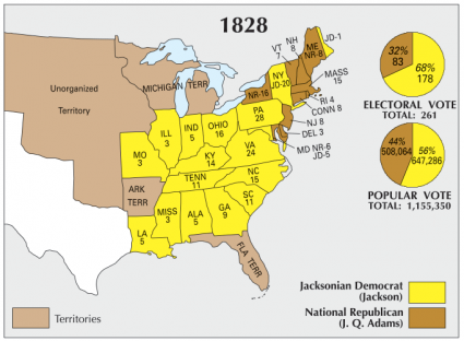 US Election 1828