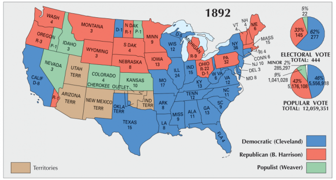 US Election 1892