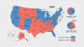 The Presidential Election Map Collection of America
