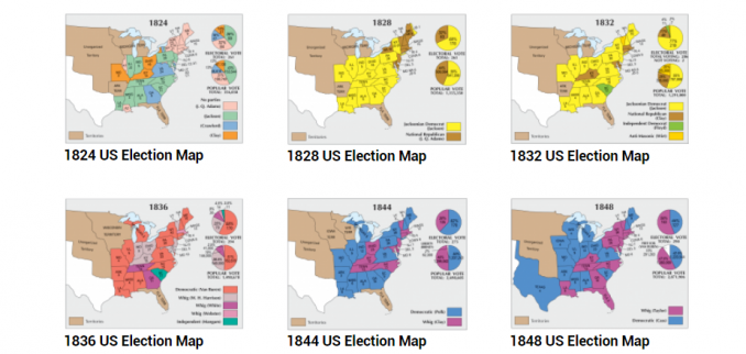 US Election Map Collection