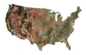 US Satellite Image