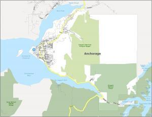 Anchorage Road Map