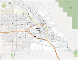 Boise Road Map