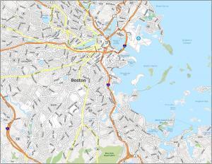 Boston Road Map