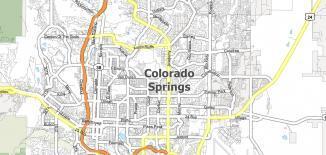 Colorado Springs Map