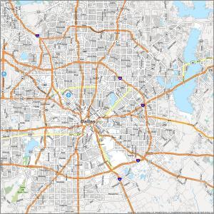 Dallas Road Map