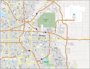Denver Road Map