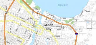 Green Bay Map