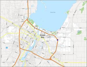 Green Bay Road Map