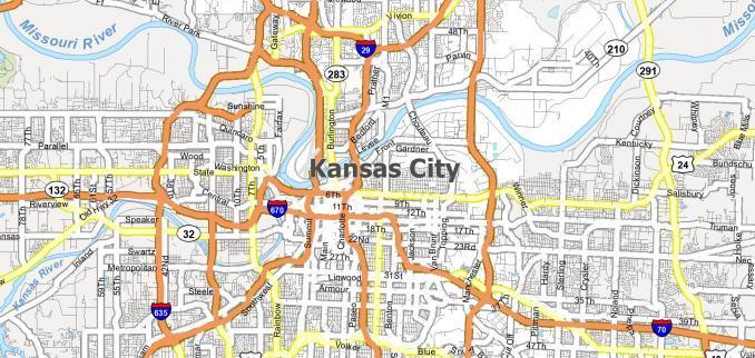 Kansas City Map Feature