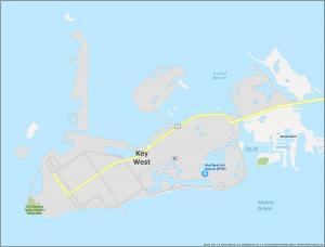 Key West Map Florida